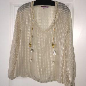 Calypso St Barth silk top XS